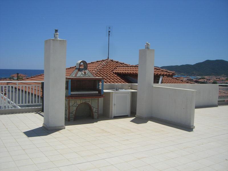 Pogled sa krova